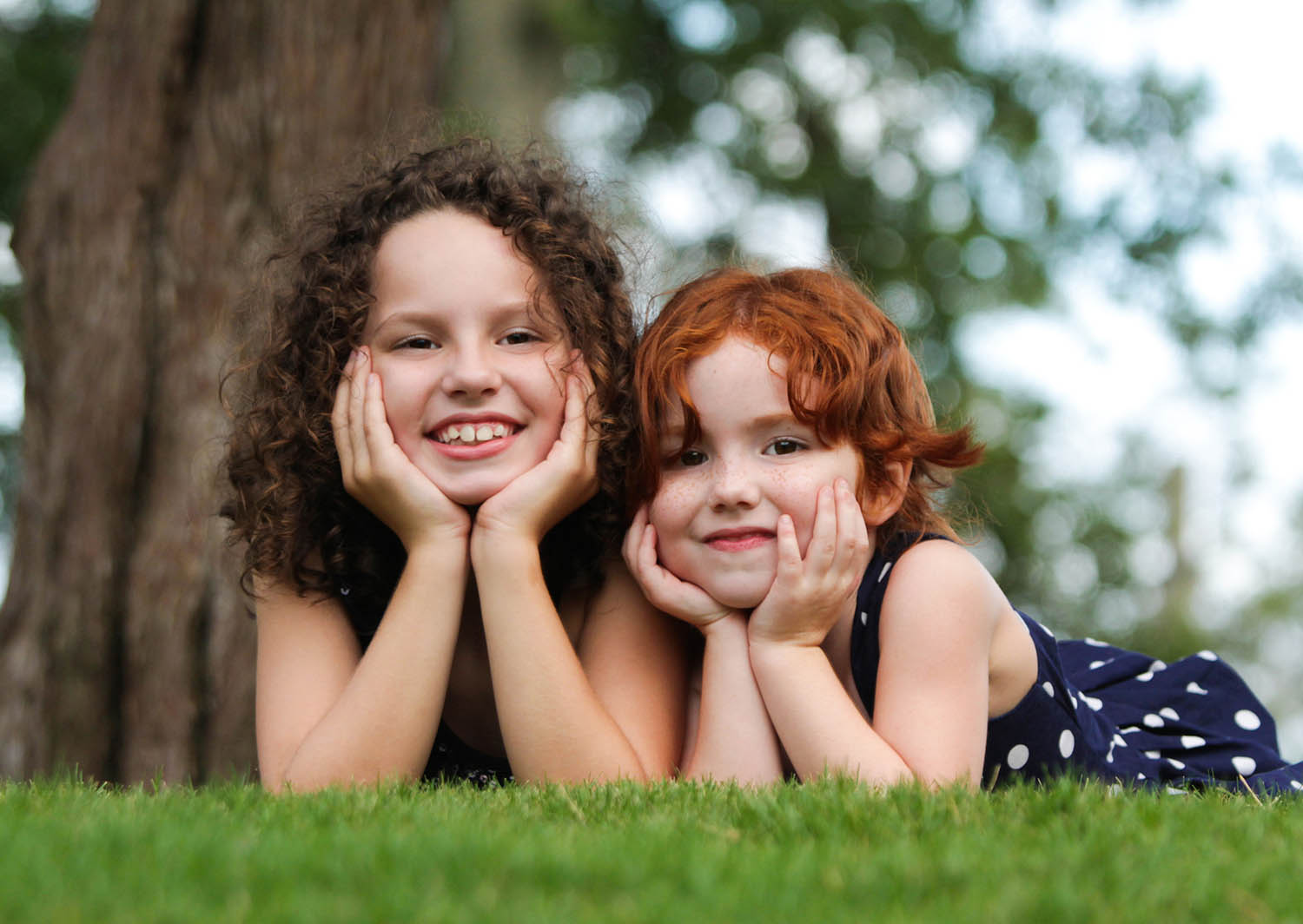 Photo of two little girls